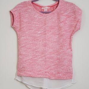 Bershka Knitwear Open Sheer Back Top